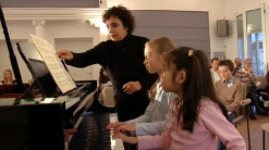 Yaara Tal mit Katharina und Tanja