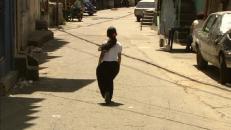 Mädchen in den Straßen von Caracas